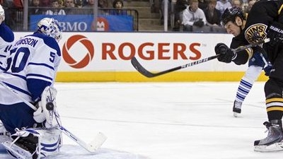 Leafs' Gustavsson Returns And Blank Bruins 2-0, Boston Drops Fourth In A Row